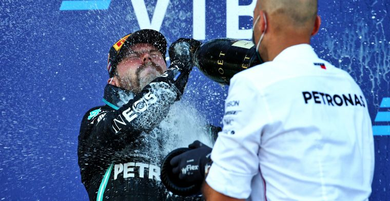Bottas proves nothing to critics: 'You will always win a race at Mercedes'