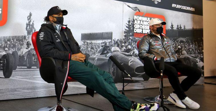 Geen zorgen bij Hamilton en Bottas: 'We vertrouwen op het team'