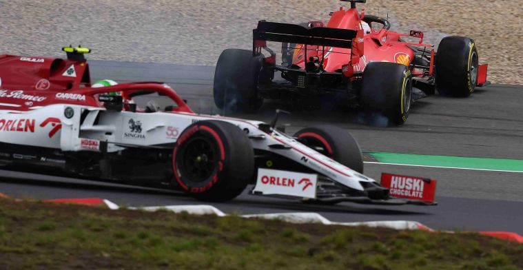 Vettel is realistic: 'That was clearly too risky'