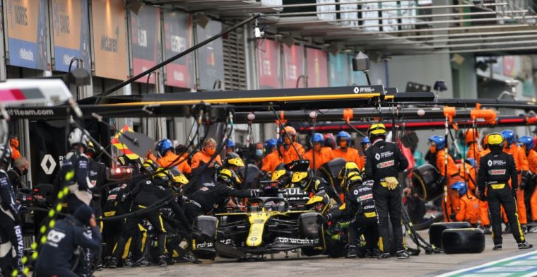 Corona detected at Renault for filming day Alonso
