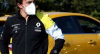Image: Renault uses filming day to have Alonso tested in the Renault on Tuesday