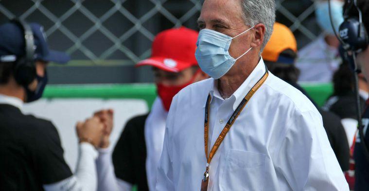 Carey wants change in F1: 'The hardcore fans will resist'