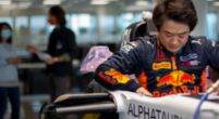 Image: Tsunoda has AlphaTauri seat fit for first F1 test