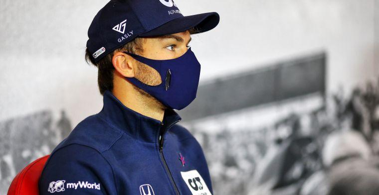 Silly Season wordt alleen maar gekker: 'Gasly is in gesprek met Renault'