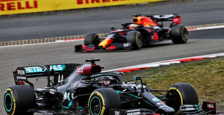 Mercedes legt strategie uit: 'Uiteindelijk de keuze van Verstappen gevolgd'