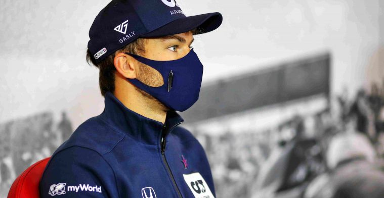 Gasly: Of course, that's what you want as a driver