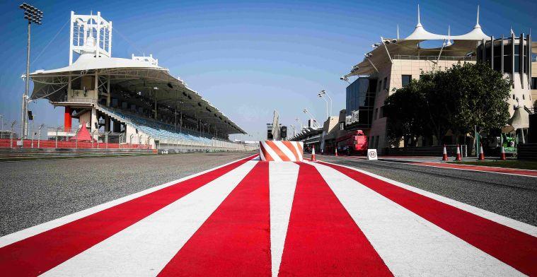 Gerucht: Formule 1 volgend jaar van start in Bahrein, Zandvoort op 2 mei