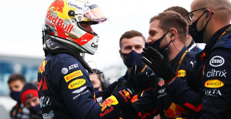 You never get used to the 'wow' moments of Verstappen'