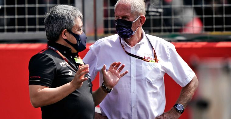 Honda: 'Marko has not yet contacted us about that'