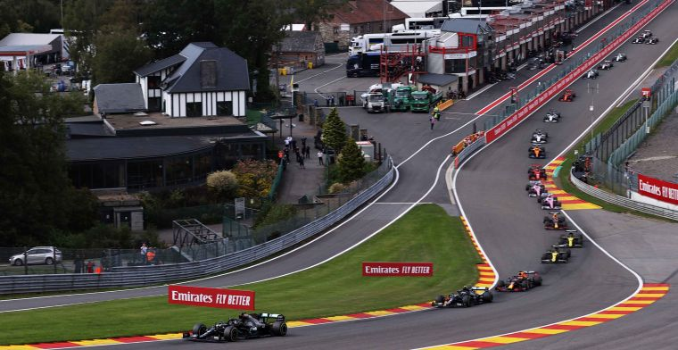 Drivers on renovation of Spa: Hope they don't spend €80 million on gravel
