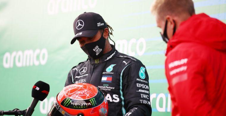 Ricciardo on Hamilton: 'Easier said than done'