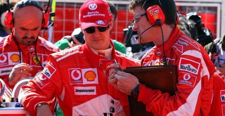 Di Montezemelo commemorates first Ferrari title Schumacher