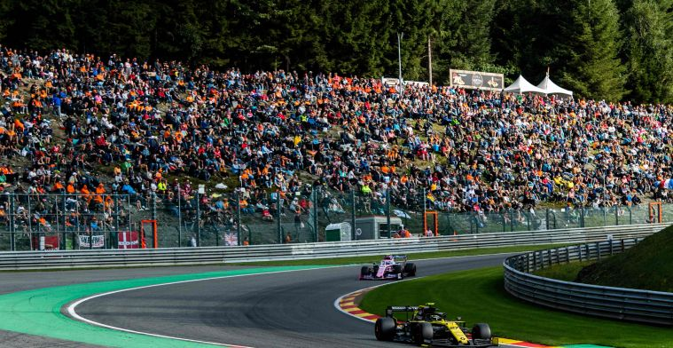Sainz: 'That's what we need to make the circuits spectacular again'