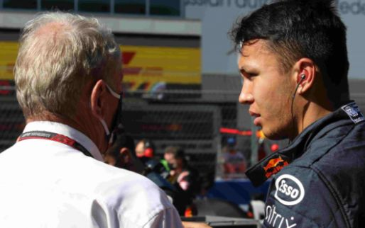 """Image: Marko: """"Albon need not fear being replaced prematurely for this reason"""""""