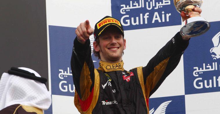 Grosjean: Van regelmatig op het podium, naar gestuntel in de achterhoede