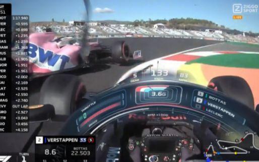 Tweede Rode vlag! Verstappen en Stroll botsen tijdens VT2 Portugal