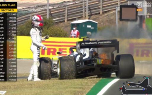 Vlammen uit Honda-motor, moet ook Verstappen vrezen voor pech?