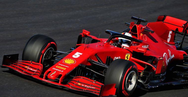 Stelling: Ferrari sluit dit seizoen nog aan bij de top van het middenveld
