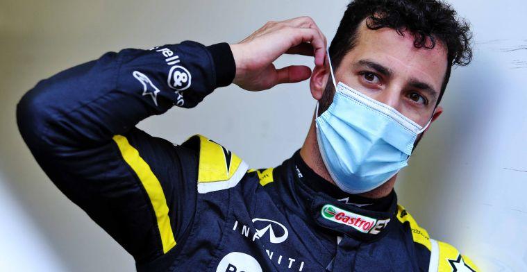 Update: Ricciardo op het matje geroepen bij de FIA