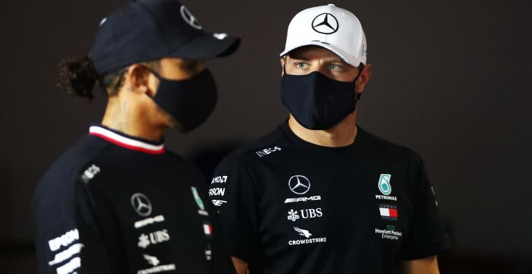 Mercedes identify and replace Bottas' faulty parts from the Eifel GP