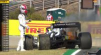 Image: Honda engine goes up in flames during second free practice