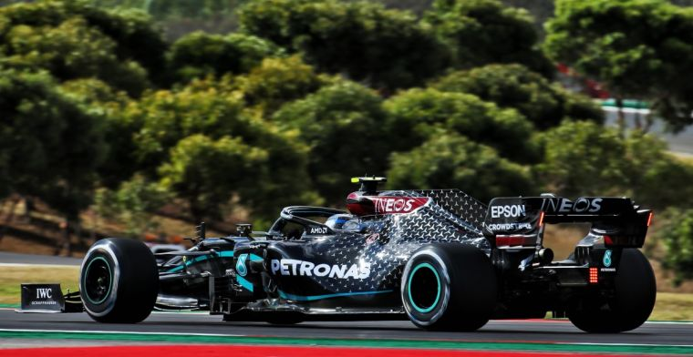 Mercedes and Bottas don't share same opinion about balance of the car after friday
