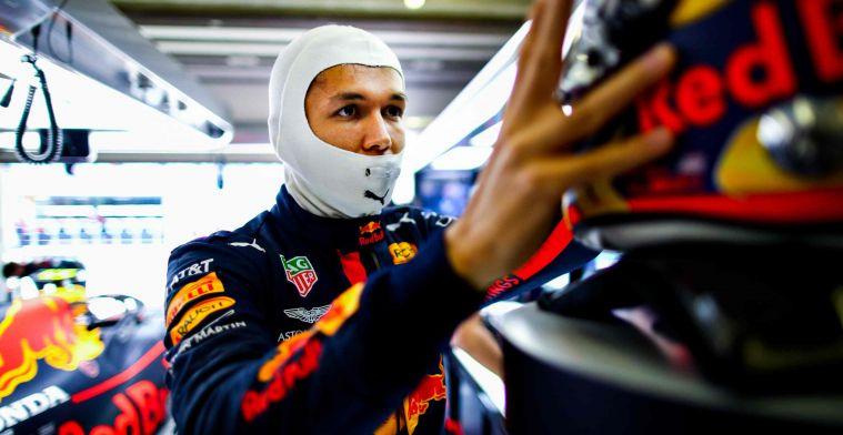 Albon na uitspraken Horner over Red Bull-pool: Het is niet mijn probleem