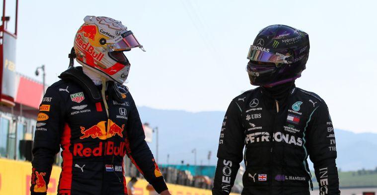 Verstappen daagt Hamilton uit van auto te wisselen om punt te bewijzen