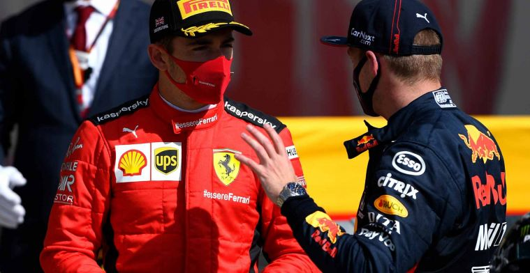 Ferrari driver saw podium coming: Max turned out to be a bit too fast in the end