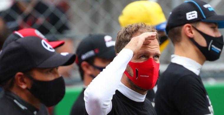 Vettel: Ik kan er verder beter niks over zeggen, ik heb alles geprobeerd