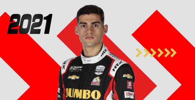 Van Kalmthout begint met titel en nieuw contract aan laatste IndyCar-race van 2020