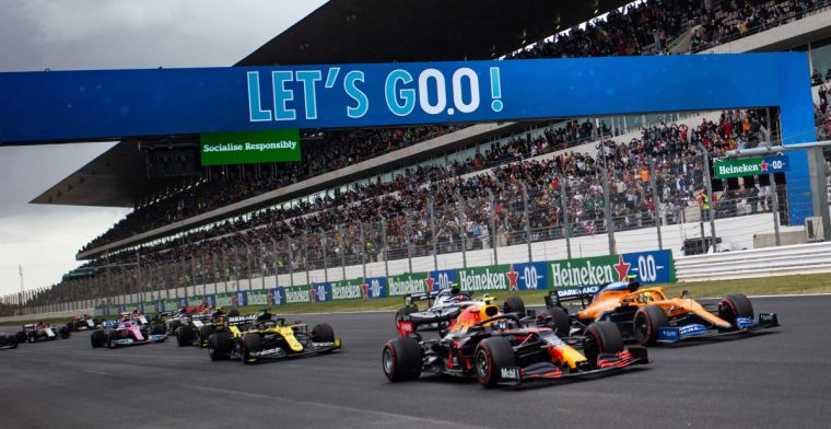 Internet reageert op recordzege Hamilton: 'Heb niet meer de beste verslagen'