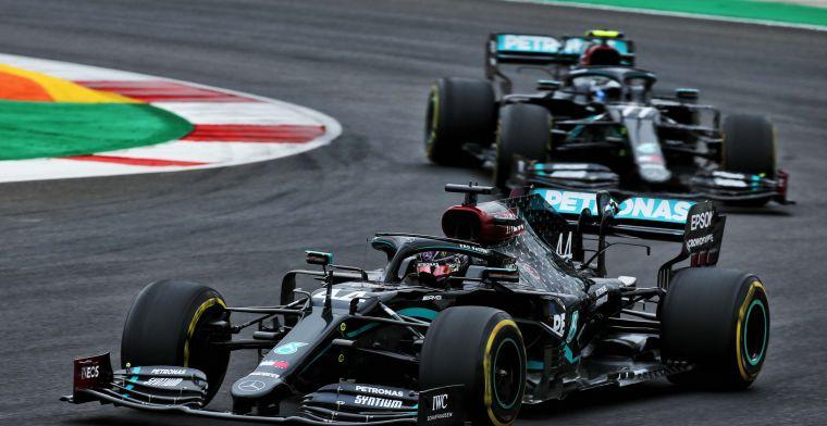 Complete uitslag: Nog geen wereldtitel voor Mercedes, Verstappen pakt P3
