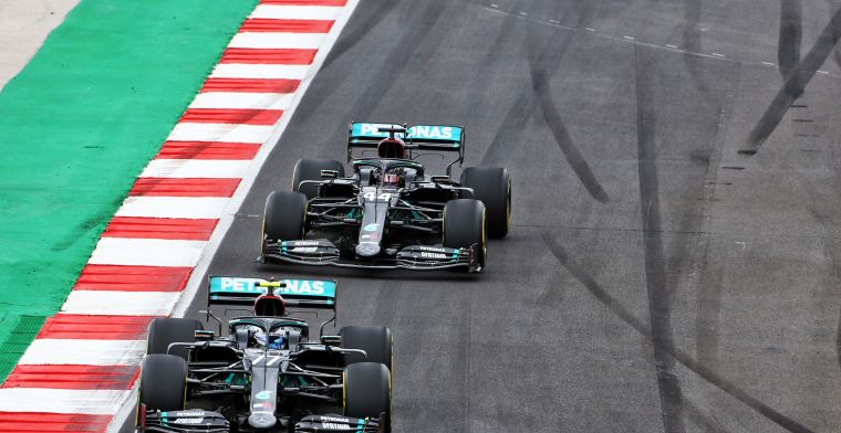 Wolff explains difference between Hamilton and Bottas: That pressure...