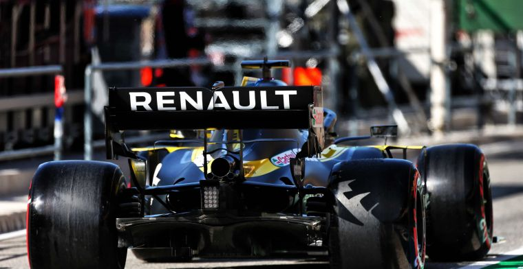 Renault pair point out pit lane faults