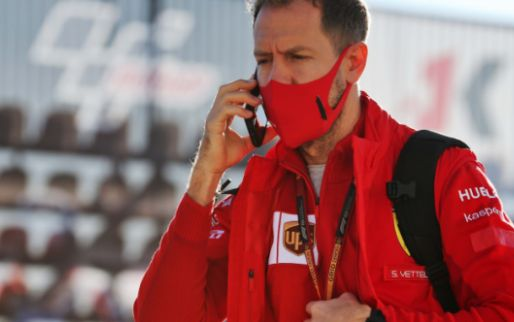 Vettel very unhappy: ''He just drives because he has to''