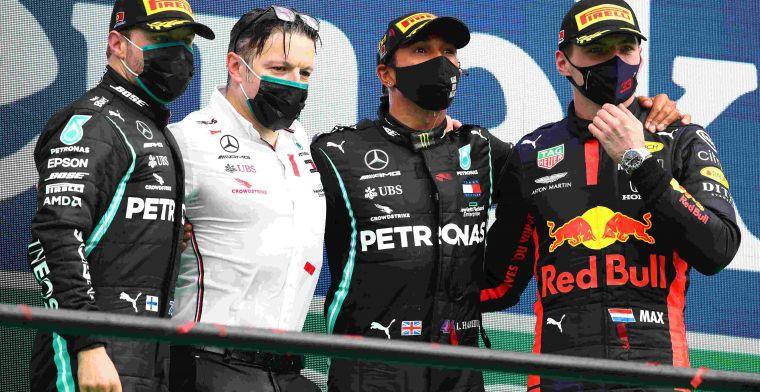 Figures for the teams after Portuguese GP: Mercedes supreme, Ferrari returns
