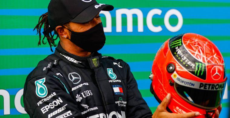 Massa ziet verschil tussen Hamilton en Schumacher: 'Qua talent nog iets beter'