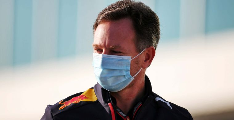 Horner lacht om steun van Mercedes: ''Ze hebben de beste motor''