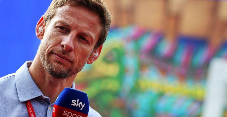 Button: 'Hij zou Verstappen graag competitiever willen hebben voor meer gepush'