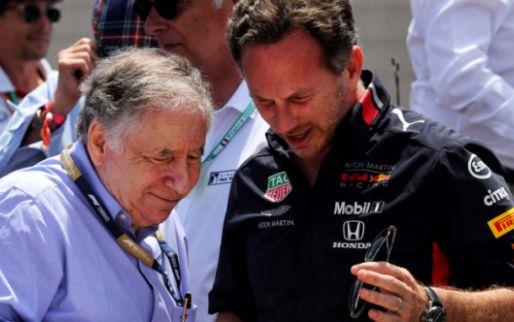 Todt moet lachen om verzoek van Red Bull: 'In mei wilden ze het tegenovergestelde'