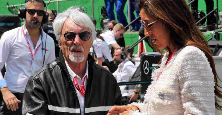 Ecclestone questions people who don't wear a face mask