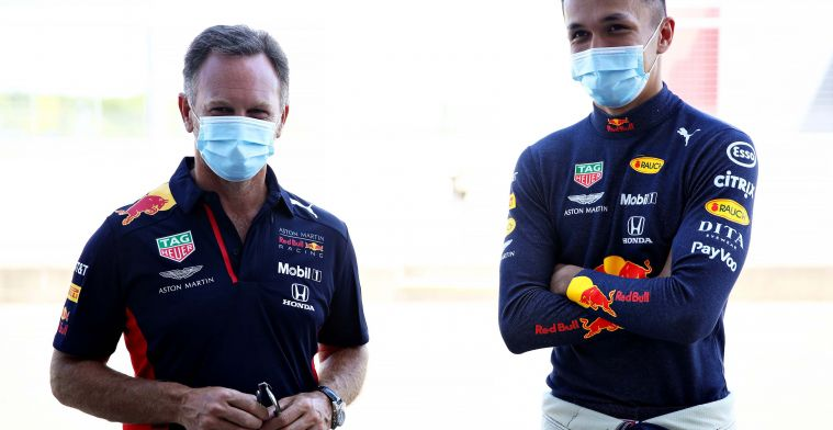Horner continues to have confidence in Albon: It's his seat