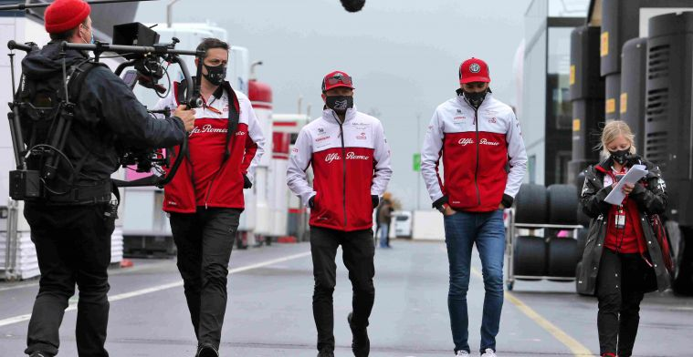 Raikkonen and Giovinazzi react: 'Otherwise I wouldn't be here'