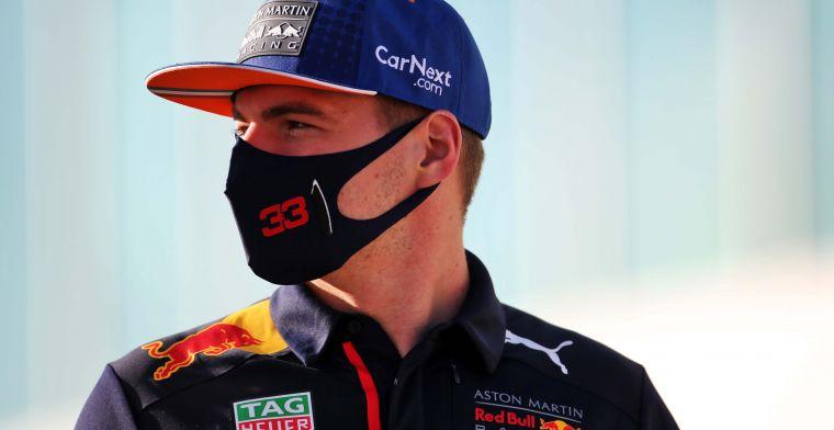 Verstappen niet met zijn hoofd bij Senna: ''Daar wil je ook niet aan denken''