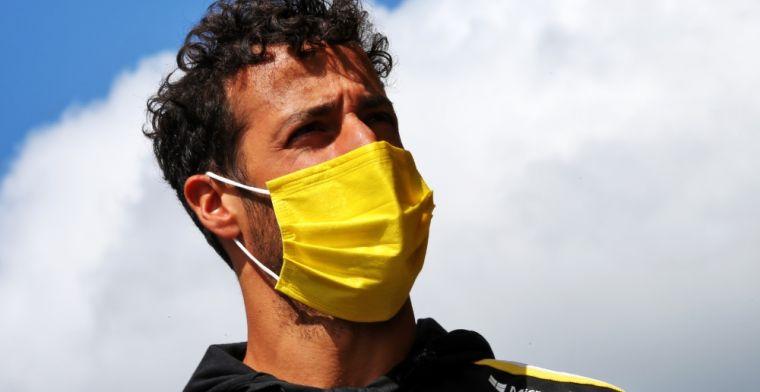 Ricciardo: 'Ik geloof nog steeds dat daar onze zwakheid ligt'