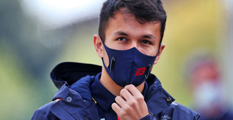 Albon is annoyed by inconsistency: Why don't we keep it the same?