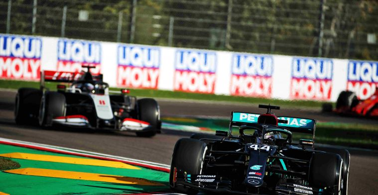 FP1 full result in Imola: Hamilton the fastest, Verstappen behind