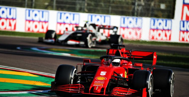 Vettel is disappointed with P14: 'I was really happy with my lap'