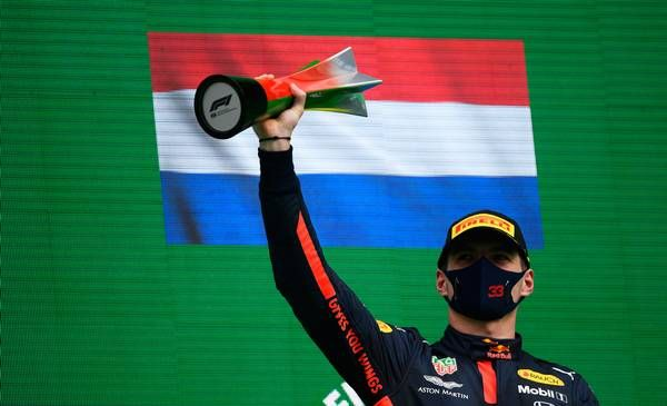 What does Verstappen think about RB16 setup? Third place!